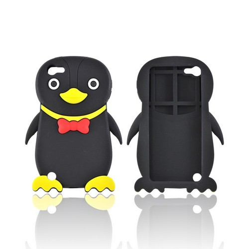 Premium Apple iPod Touch 5 Silicone Case - Black Duck