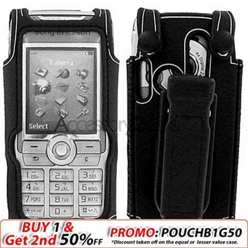 Sony Ericsson W810 Water Suit- Black w/ Silver Trim