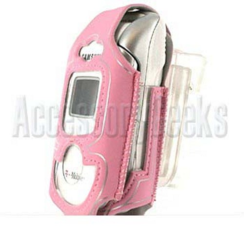 Samsung A950 Pink with Silver Trim Water Suit