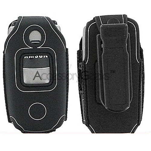 Samsung M300 Water Suit Case - Black w/ Silver Trim