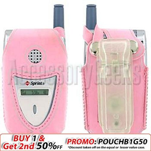 Sanyo 2300 Baby Pink with Silver Trim Water Suit Case