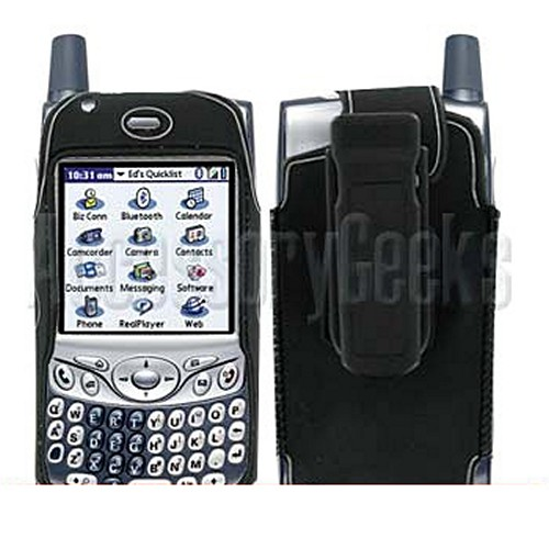Handspring Treo 650 Black with Silver Trim Water Suit Case
