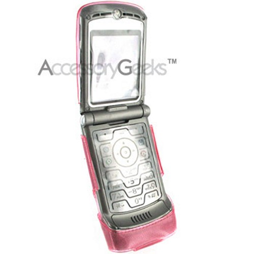 Motorola V3 Pink Diamond Case