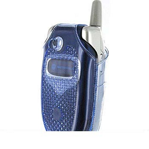 Motorola V551 Blue Diamond Case