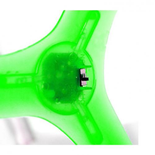 Ultra Light-Up LED 3-Leaves Boomerang Flying Toy [Green]