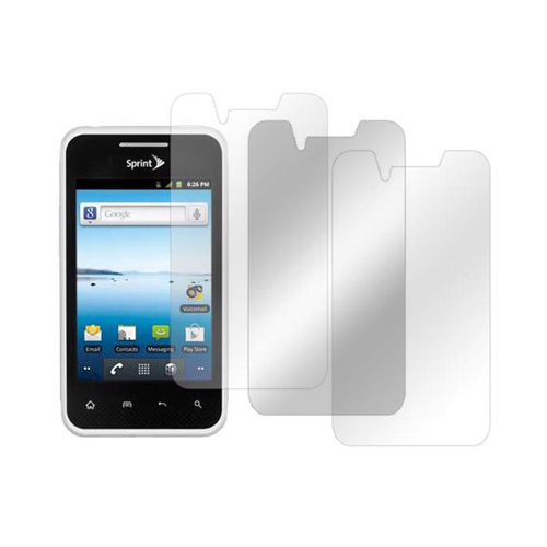 LG Optimus Elite Screen Protector Medley w/ Regular, Anti-Glare, & Mirror Screen Protectors