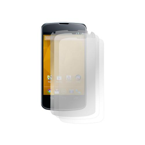 LG Nexus 4 Screen Protector Medley w/ Regular, Anti-Glare, & Mirror Screen Protectors