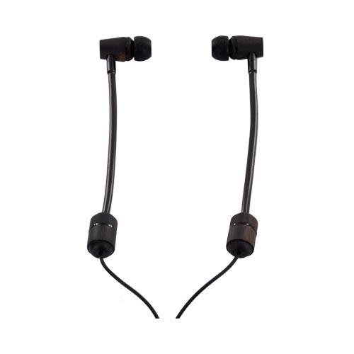 Original RF3 LIVE for Joseph Vincent Eco-Friendly Stereo Earbud Headset w/ Mic (3.5mm), LIVE-JV1 - Natural Wood/ Black