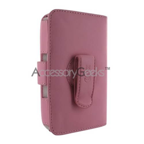 Creative Zen Vision W Book Type Leather Case (60G) - Pink