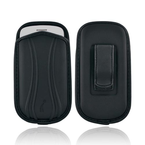 Ultra Thin PDA EVA Neoprene Pouch w/ Belt Clip - Black