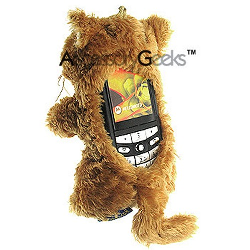 Fun Friends Cuddly Kitty Cat Bar Animal Cell Phone Case (BS)