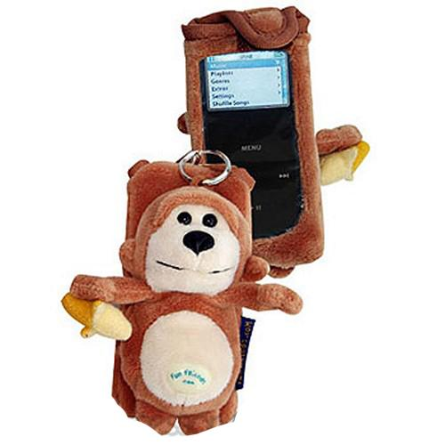 Fun Friends Funky Monkey iPod Nano Case - Brown