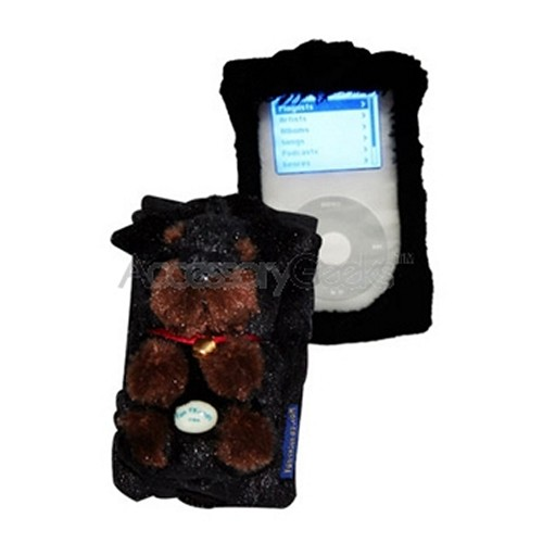 Fun Friends Rottie Puppie iPod video Case - Black & Brown