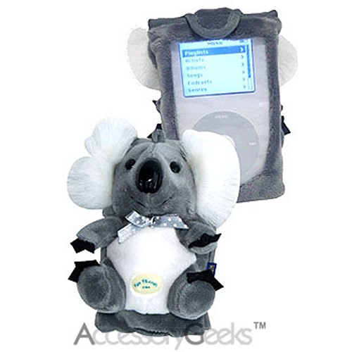 Fun Friends Sydney Koala iPod Case - Gray