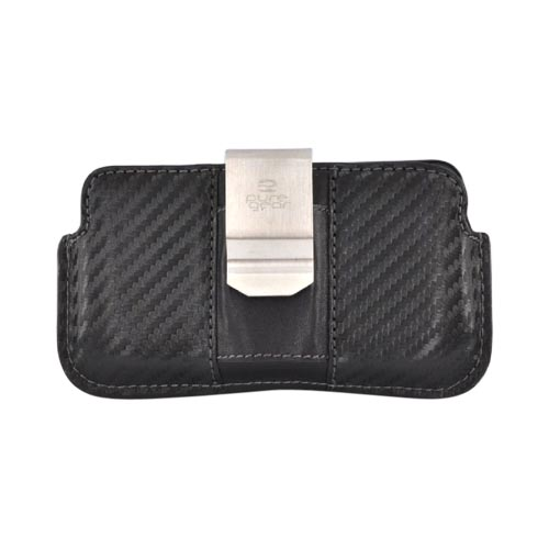 Original PureGear Apple iPhone 3G 3GS 4 Horizontal Soft Case Holster Pouch w/ Removable Clip and ID Slots - Black (PUT)
