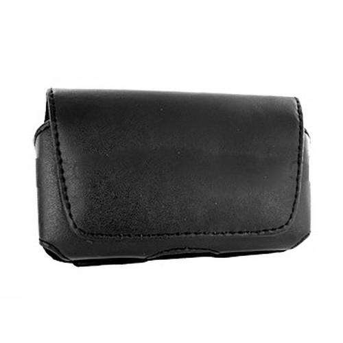 Premium Horizontal Pouch for Thin PDA phones - Black