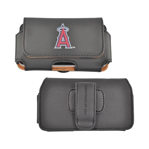 MLB Los Angeles Angels of Anaheim Horizontal Cell Phone Case / Pouch
