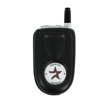 MLB Houston Astros Vertical Cell Phone Pouch