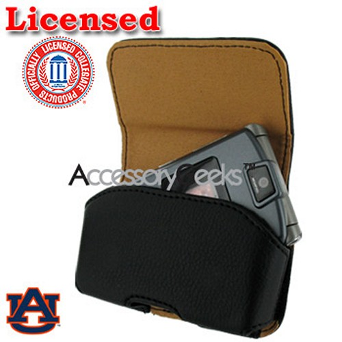 College Auburn Tigers Team Horizontal Cell Phone Holster Pouch