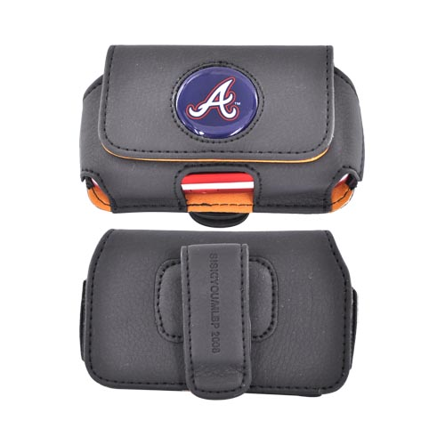 MLB Atlanta Braves Horizontal Cell Phone Case / Pouch