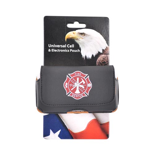Firefighter Horizontal Cell Phone Pouch