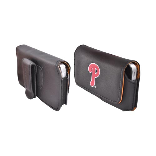 MLB Philadelphia Phillies Horizontal Cell Phone Pouch (FM)