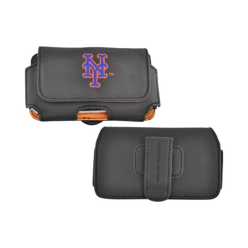 MLB New York Mets Horizontal Cell Phone Case / Holster Pouch