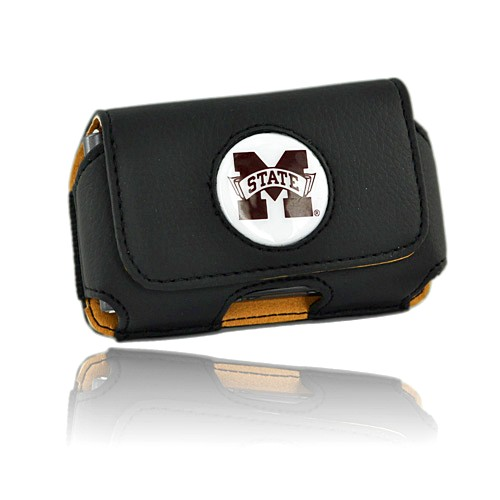College University of Mississippi State Bulldogs Horizontal Cell Phone Pouch (FS)