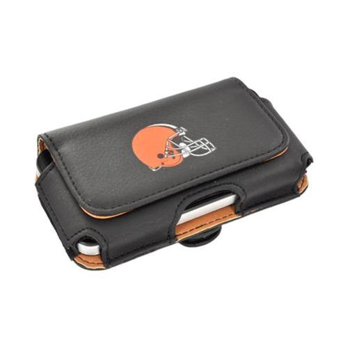 Universal NFL Cleveland Browns Horizontal Holster Pouch (PUT, PUTS, PUTL Size)