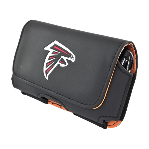 Universal NFL Atlanta Falcons Horizontal Holster Pouch (PUT, PUTS, PUTL Size)