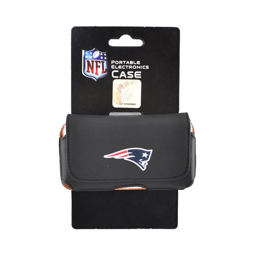 Universal NFL New England Patriots Horizontal Holster Pouch (PUT, PUTS, PUTL Size)