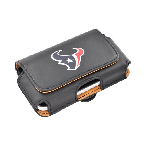 Universal NFL Houston Texans Horizontal Holster Pouch (PUT, PUTS, PUTL Size)