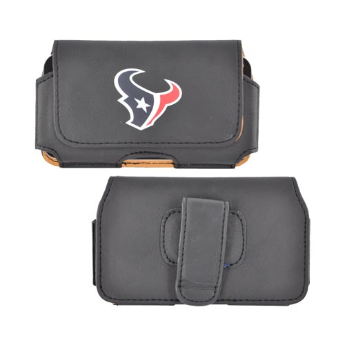 NFL Houston Texans Horizontal Holster Pouch (PUT, PUTS, PUTL Size)
