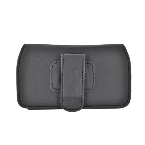 Licensed NBA Universal Chicago Bulls Horiztonal Leather Pouch - Black (PUT)