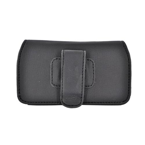 Licensed NBA Cleveland Cavaliers Horizontal Leather Pouch - Black (PUT)