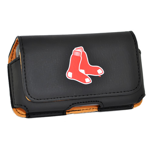 Universal MLB Boston Red Sox Horizontal Holster Pouch (PUT, PUTS, PUTL Size)