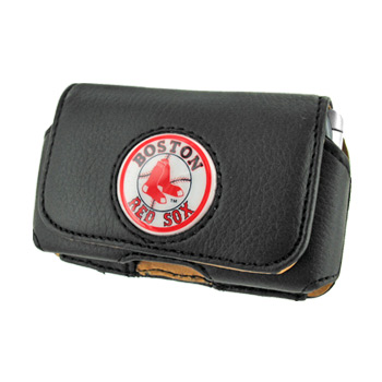 MLB Boston Red Sox Horizontal Cell Phone Case / Holster Pouch