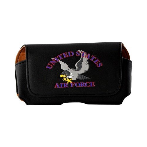 U.S. Air Force Horizontal Cell Phone Holster Pouch