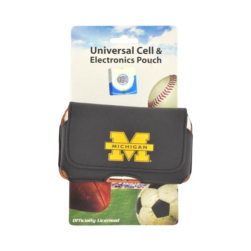 College Michigan Wolverines Horizontal Cell Phone Pouch