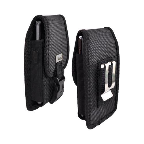 Universal Heavy Duty Case/Pouch with Stainless Steel Belt Clip (BM, BL, BUT)