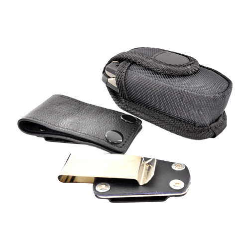 Heavy Duty Nylon Case/Pouch w/ Stainless Steel Belt Clip (BUT)