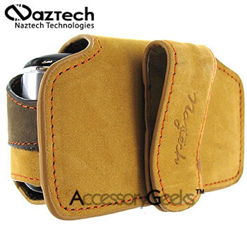 Naztech Horizontal Sahara Suede Cell Phone Case w/ Belt Clip (FS)