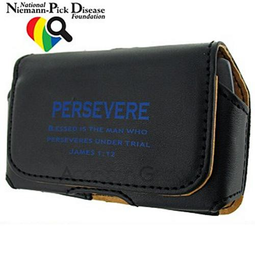 Universal Persevere Horizontal Holster Pouch - Black (FUT size)