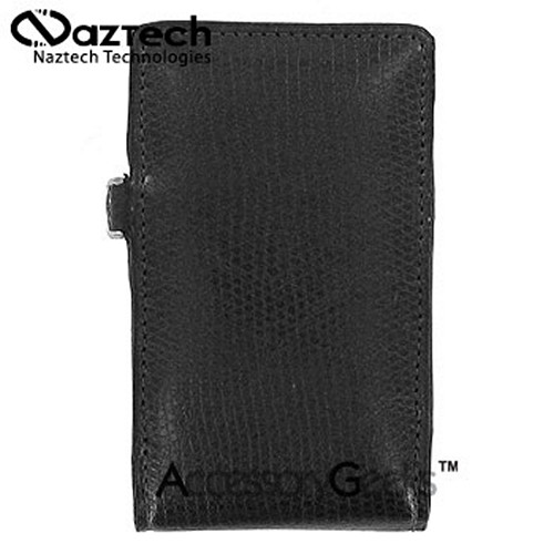 Naztech Prive Cell Phone Case w/ Hand Strap (FUT) - Black