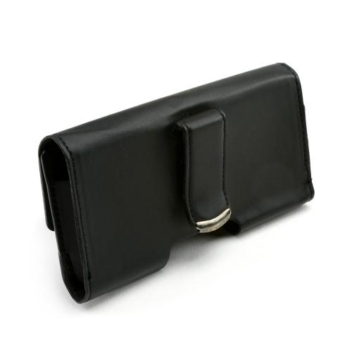 Original Verizon HTC Droid Eris S6200 Horizontal Pouch w/ Velcro Closure Belt Clip (PUTS), - Black