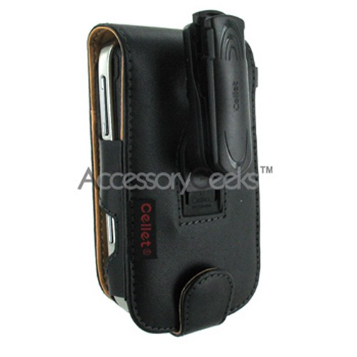 Premium Blackberry Bold 9000 Vertical Leather Wallet Case w/ Sleeping Function & Credit Card Slots