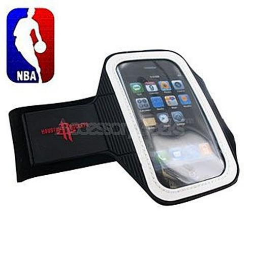 NBA Licensed Apple iPhone Armband Case - Houston Rockets