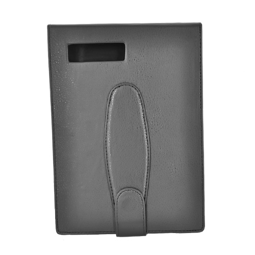Amazon Kindle Vertical Leather Flip Open Type Case - Black