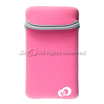 Nintendo Dsi Nylon Vertical Reversible Sleeve Pouch - Pink
