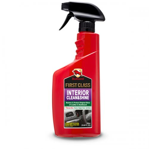 Bullsone First Class Interior Clean & Shine - Protect Your Car From Aging And Cracking!